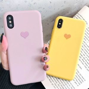 IPHONE HEART CASE IPHONE 5 7 6 8 PLUS X XR MAX 11